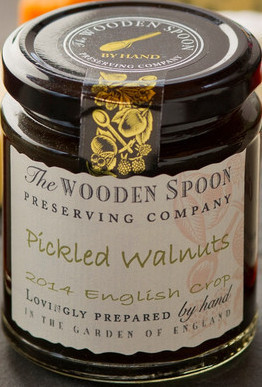 Wooden Spoon Pickled Walnuts in Cider Vinegar