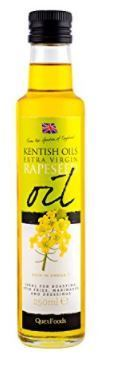 Kentish Oils Cold Pressed Rapeseed Oil 100ml