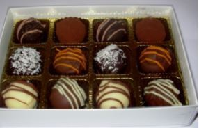 Kentish Chocolate Co 12 luxury handmade chocs