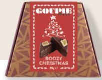 Goupie confectionery- Boozy Christmas
