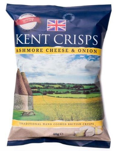 Kent Crisps - Ashmore cheese & onion